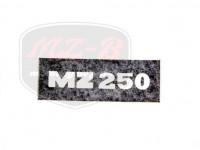 MZ/TS 250 SCHRIFTZUG FOLIE /NEGATIV/