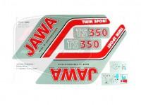 JAWA 350 12V KLEBEFOLIE SATZ TWIN SPORT