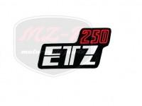 ETZ 250 KLEBEFOLIE 250