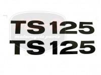 MZ/TS 125 KLEBEFOLIE PAAR
