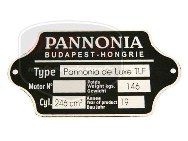 PANNÓNIA TLF TYPSCHILD /TLF/